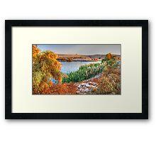 Lake Nasser at Sunset Framed Print