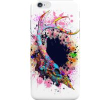 Colorful Reindeer Skull iPhone Case/Skin