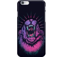 Alpha Lion Alert for Fight iPhone Case/Skin