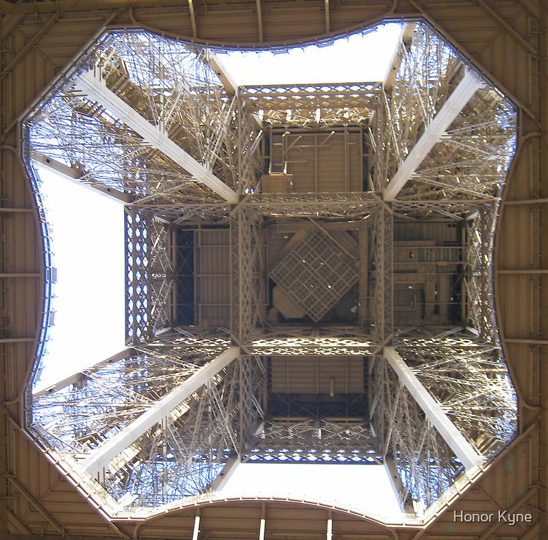 Eiffel Tower in Detail by Honor Kyne