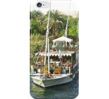 Harbour Life along the River Nile iPhone Case/Skin