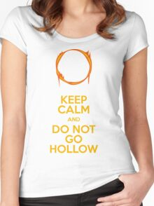 Do not go Hollow Women's Fitted Scoop T-Shirt