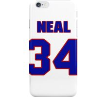 National football player Neal Craig jersey 34 iPhone Case/Skin