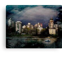 Vancouver City Canvas Print