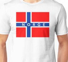 flag of Norway Unisex T-Shirt