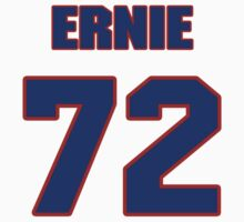 National football player Ernie Price jersey 72 by imsport
