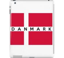 flag of denmark iPad Case/Skin