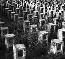 Garden Grave by foodshelterart