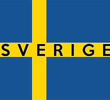 flag of Sweden by tony4urban
