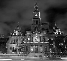 Xmas at Townhall by Peter Harrison