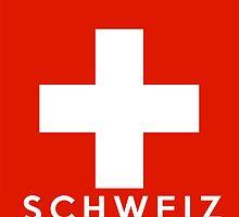 flag of Switzerland by tony4urban