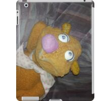 Battered Fozzie Bear. iPad Case/Skin