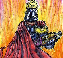 Knightmare & Zep No.1 by Jason Kelly