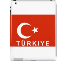 flag of Turkey iPad Case/Skin