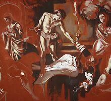 Homage to Caravaggio by Jedika