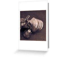 The Grenade Launcher  Greeting Card