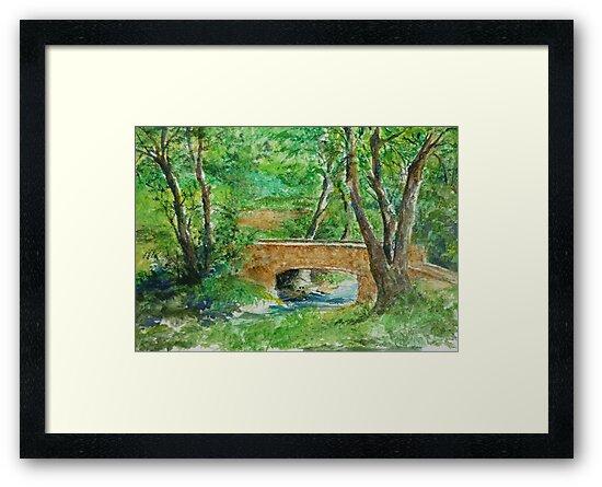 Danielle Fuchs' Bridge, Moulin De Perrot by lizzyforrester
