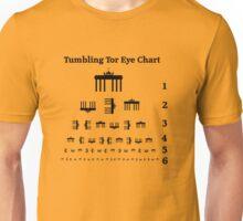 Tumbling Tor Eye Chart Unisex T-Shirt