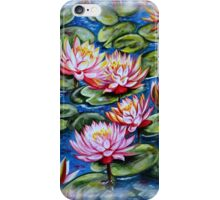 Water Lilies Fantasy iPhone Case/Skin