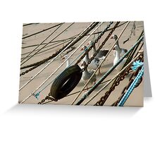 Geese on the march Greeting Card