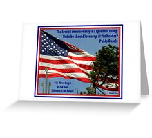 9/11 : Tolerance Is The Answer Greeting Card