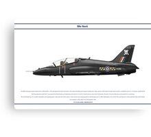 Hawk GB 4 Canvas Print