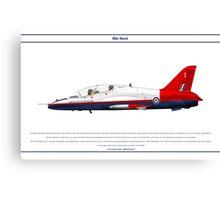 Hawk GB 6 Canvas Print