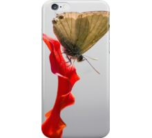 Cycad Blue, Flower Red iPhone Case/Skin