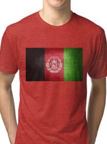 Afghanistan Flag Tri-blend T-Shirt