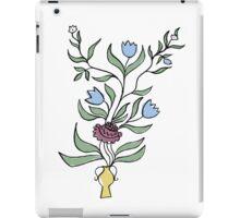flower pot motif iPad Case/Skin