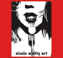 Forked - Nicole Whitty Art text by whittyart