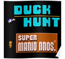Duck Hunt and Super Mario Bros Poster