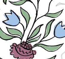 flower pot motif Sticker