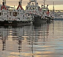 Tugboats by awefaul