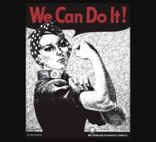 We Can Do It - Rosie the Rivetor by Blahzeedee