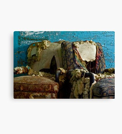 A Perfect Pair: Imperfect Chairs Canvas Print