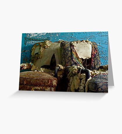 A Perfect Pair: Imperfect Chairs Greeting Card