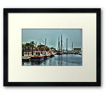 The Marina, Cartagena, Costa Calida, Spain Framed Print