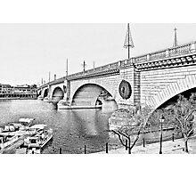 London Bridge, Lake Havasu City, Arizona  Photographic Print