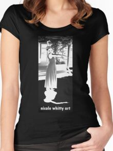 Flamenco Performer Women's Fitted Scoop T-Shirt