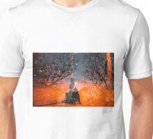 orange evening Unisex T-Shirt