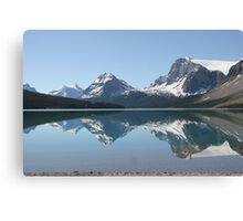 Bow Lake, Icefields Parkway, Alberta, Canada Canvas Print