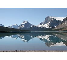 Bow Lake, Icefields Parkway, Alberta, Canada Photographic Print