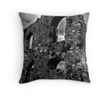 here there be ruins! Throw Pillow