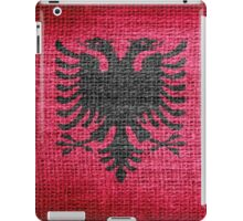 Albania Flag iPad Case/Skin