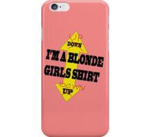 Blonde Girls II iPhone Case/Skin