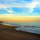 Beach, Sunset, Ocean Sands, Corolla, Outer Banks, North Carolina by fauselr