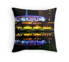 Melbourne Reflections Throw Pillow