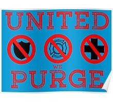 United We Purge. Poster