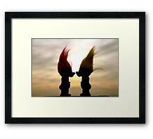 Troll lovers Framed Print